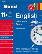 New Bond 10 Minute Tests English 8-9 Years - Lindsay, Sarah