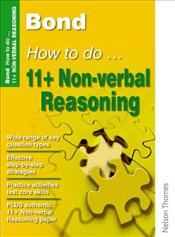 Bond How to do 11+ Non-Verbal Reasoning New Edition - Primrose, Alison