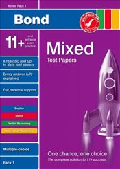 Bond 11+ Test Papers: Multiple Choice: Mixed Pack 1 (Bond 10 Minute Tests) - Baines, Andrew