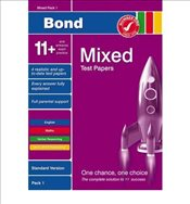 [ BOND 11+ TEST PAPERS MIXED PACK 1 STANDARD BY PRIMROSE, ALISON](AUTHOR)PAMPHLET - Primrose, Alison