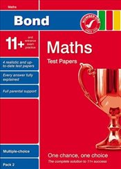 Bond 11+ Test Papers Maths Multiple-Choice Pack 2 (Bond 10 Minute Tests Maths) - Lindsay, Sarah