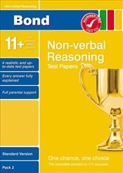 Bond 11+ Test Papers Non-Verbal Reasoning Standard Pack 2 - Primrose, Alison