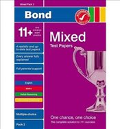 Bond 11+ Test Papers Mixed Pack 2 Multiple Choice by Primrose, Alison ( AUTHOR ) Jul-06-2009 Pamphle - Primrose, Alison