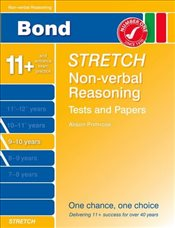 Bond Stretch Non-Verbal Reasoning Tests and Papers 9-10 years - Down, Frances