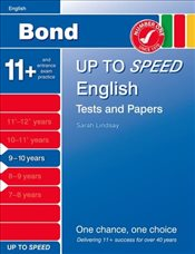 Bond Up to Speed English Tests and Papers 9-10 years - Down, Frances