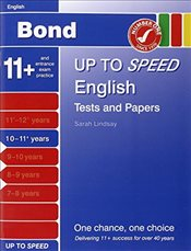 Bond Up to Speed English Tests and Papers 10-11+ years - Down, Frances