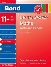 Bond Up to Speed Maths Tests and Papers 9-10 years - Down, Frances