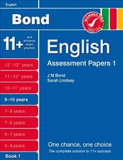 New Bond Assessment Papers English 9-10 Years Book 1 - Lindsay, Sarah