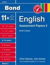 New Bond Assessment Papers English 9-10 Years Book 2 - Lindsay, Sarah