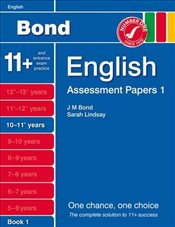 New Bond Assessment Papers English 10-11+ Years Book 1 - Lindsay, Sarah