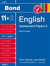 New Bond Assessment Papers English 10-11+ Years Book 2 - Lindsay, Sarah