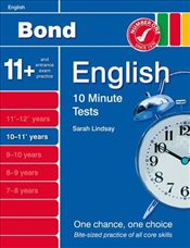 New Bond 10 Minute Tests English 10-11+ Years - Lindsay, Sarah