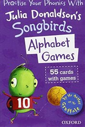 Oxford Reading Tree Songbirds: Alphabet Games Flashcards - Donaldson, Julia