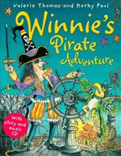 Winnies Pirate Adventure Paperback & CD (Winnie the Witch) - Thomas, Valerie