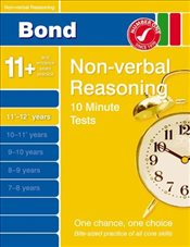 Bond 10 Minute Tests Non-verbal Reasoning 11-12+ years - Primrose, Alison