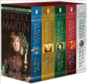 Song of Ice and Fire Set: A Game of Thrones / A Clash of Kings / A Storm of Swords / A Feast for Cro - Martin, George R. R.