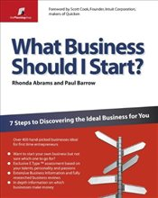 What Business Should I Start? : 7 Steps to Discovering the Ideal Business for You  - Abrams, Rhonda