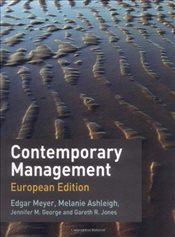 Contemporary Management : European Edition - Ashleigh, Melanie