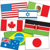 International Flags Accent Punch-outs - Scholastic,
