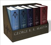 Game of Thrones Boxed Set : Game of Thrones / Clash of Kings / Storm of Swords / Feast for Crows / D - Martin, George R. R.
