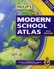 Philips Modern School Atlas: 97th Edition (Paperback) - Philips,