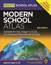 Philips Modern School Atlas : 98th Edition  - Philips,