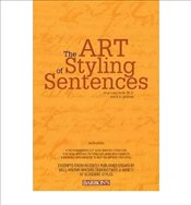 Art of Styling Sentences - Sullivan, K.D.