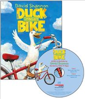 Duck on a Bike : Audio : Read Along Book & CD - Shannon, David