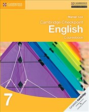 Cambridge Checkpoint English Coursebook 7   - Cox, Marian