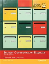 Business Communication Essentials 7e - Bovee, Courtland L.