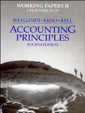 Accounting Principles 4e : Working Papers 2 - Weygandt, Jerry J.