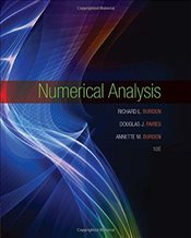 Numerical Analysis 10E - BURDEN, RICHARD L.