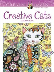 Creative Haven Creative Cats Coloring Book - Sarnat, Marjorie