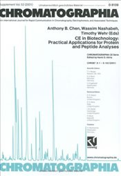 CE in Biotechnology : Practical Applications for Protein and Peptide Analyses   -