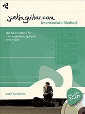 Justinguitar.com Intermediate Method : Book + 2Cds - Sandercoe, Justin