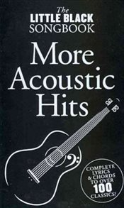 Little Black Songbook : More Acoustic Hits   -