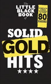 Little Black Book of Solid Gold Hits Book -