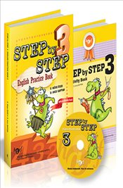 Step by Step  : English Practice Book 3 Cd İlaveli - Kaptan, Arzu D.