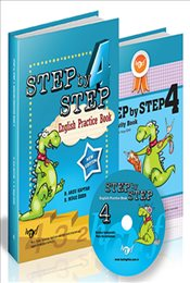 Step By Step : 4.Sınıf English Pratıce Book Cd İlaveli - Kaptan, Arzu D.