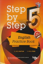 Step by Step : English Pratice Book 5 Cd İlaveli - Kaptan, Arzu D.