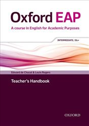 Oxford EAP: Intermediate/B1+: Teachers Book, DVD and Audio CD Pack - Rogers, Louis