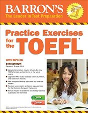 Practice Exercises for the TOEFL 8e with MP3 CD - Sharpe, Pamela