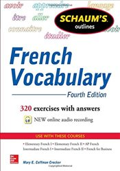 Schaums Outline of French Vocabulary (Schaums Foreign Language Series) - Crocker, Mary Coffman