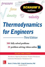 Schaums Outline of Thermodynamics for Engineers, 3rd Edition (Schaums Outline Series) - Potter, Merle