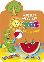 Pandora Yaz Sebzeler Meyveler Boyama Kitabi Kitap Isbn