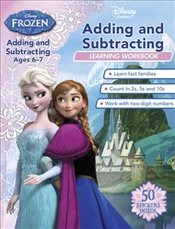 Frozen : Adding and Subtracting :  Ages 6-7 - Disney Book Group