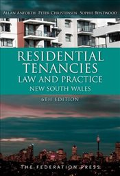 Residential Tenancies Law and Practice - Anforth, Allan