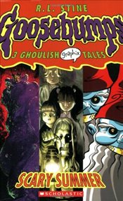 Scary Summer: 3 Ghoulish Tales (Goosebumps Graphix) - Stine, R. L.