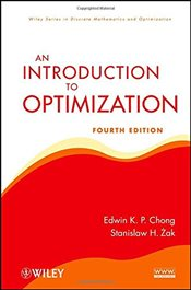 Introduction to Optimization 4e  (Wiley Series in Discrete Mathematics and Optimization) - Chong, Edwin K. P.