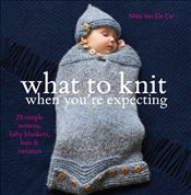 What To Knit When Youre Expecting: 28 Simple Mittens, Baby Blankets, Hats & Sweaters - Van De Car, Nikki